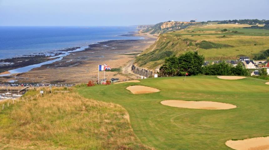 Omaha Beach Golf Club, golf in France