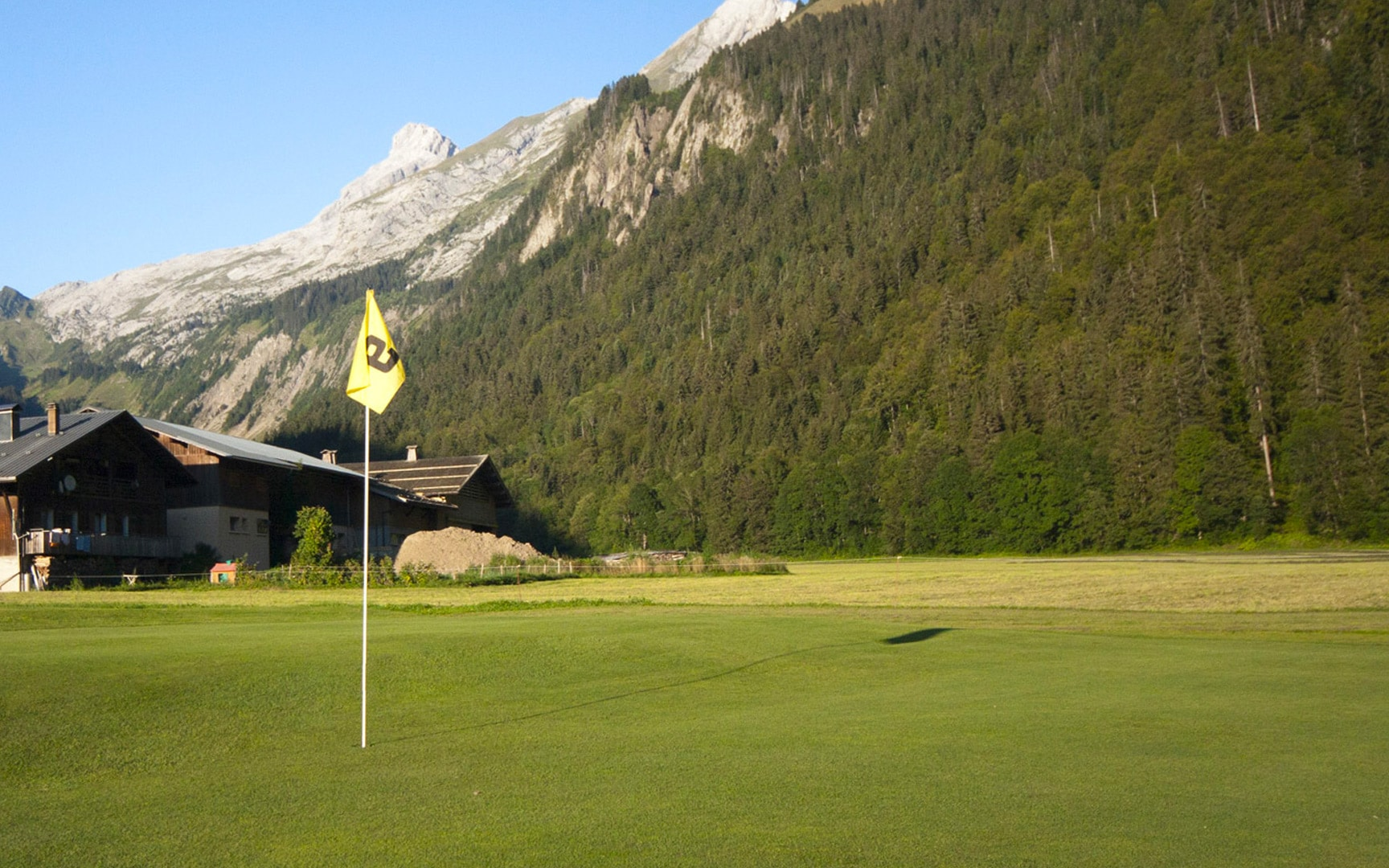 Golf le Rocher Blanc - golf du Grand-Bornand