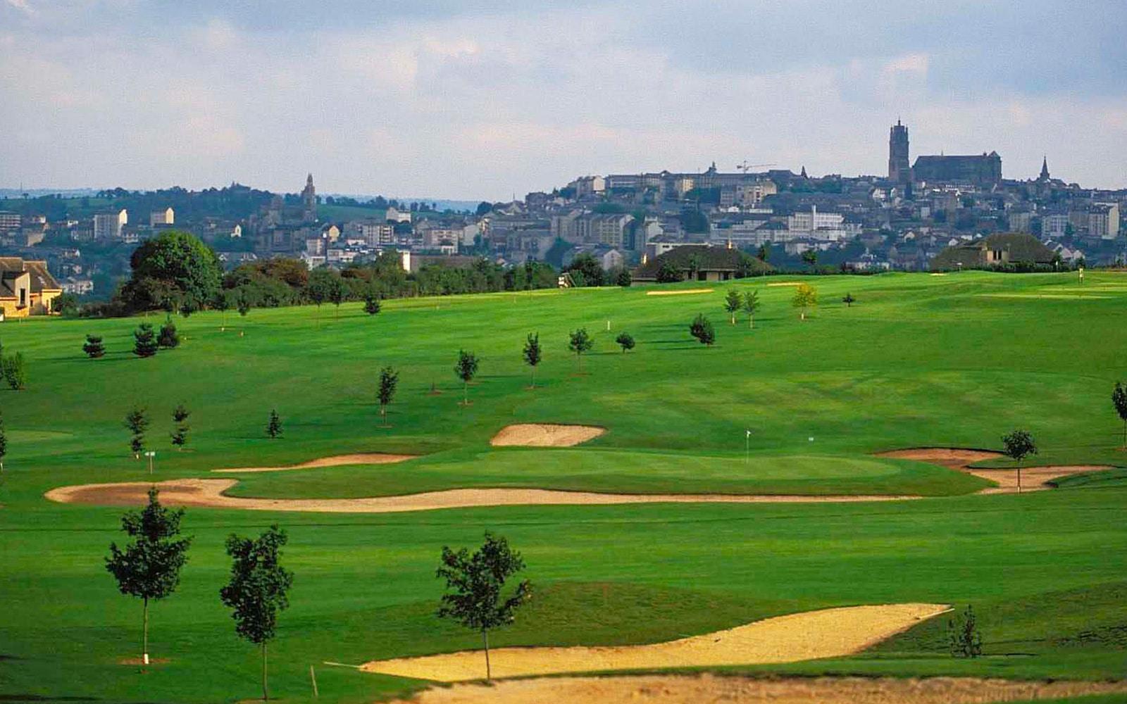 Golf du Grand Rodez, Golf Blue Green
