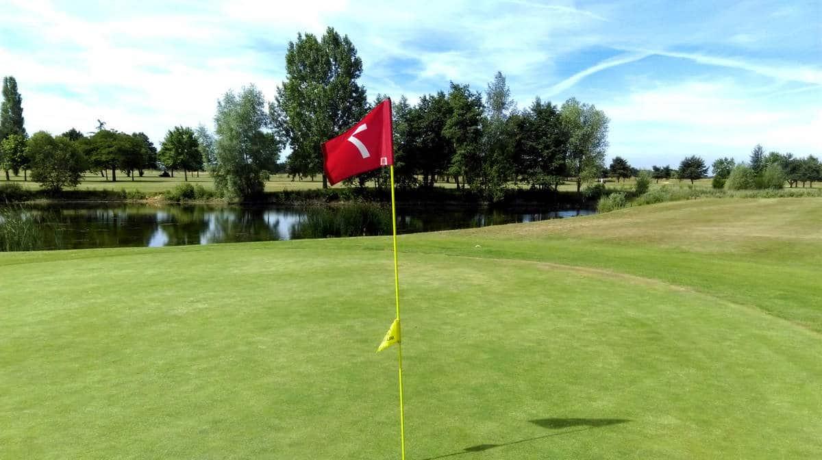 Golf Blue Green St Aubin
