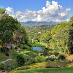 Royal Mougins golf hole 2
