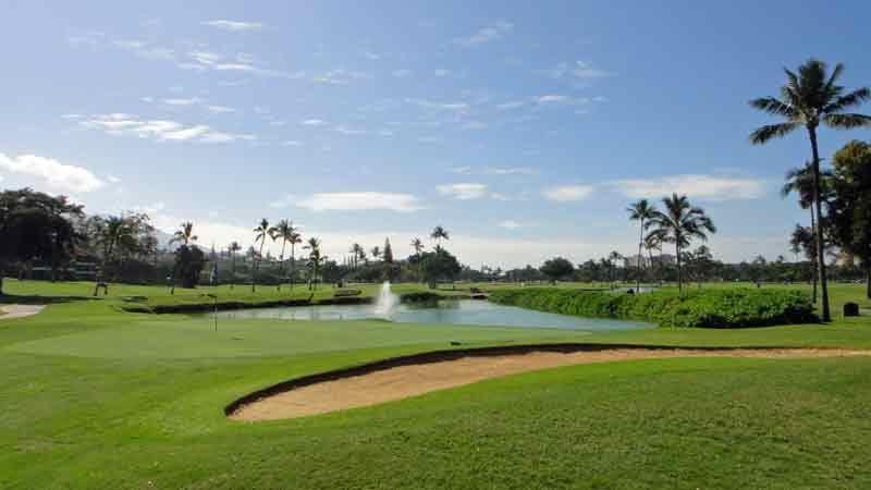 Ka'anapali golf courses