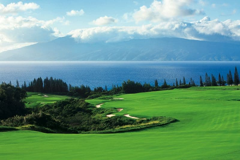 Kapalua's Plantation Course, golf in Hawaii
