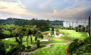 Keppel Club golf course in Singapore