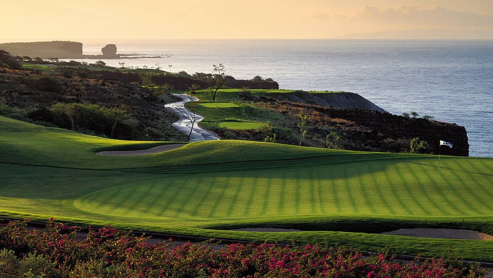 Manele Golf course, golf in Hawaii