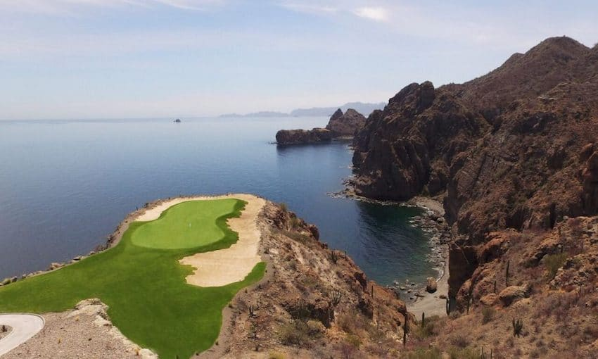 Danzante Bay golf club, golf Mexico