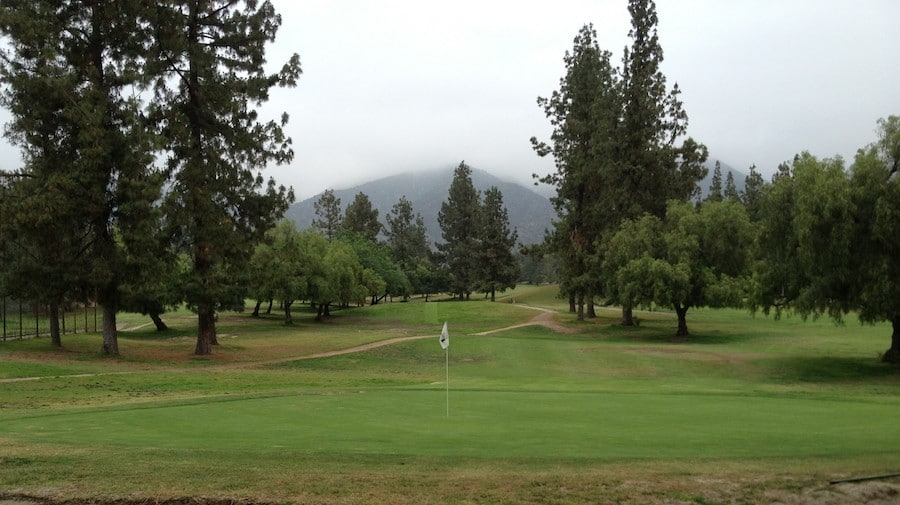 Eaton Canyon Golf Course, golf in California