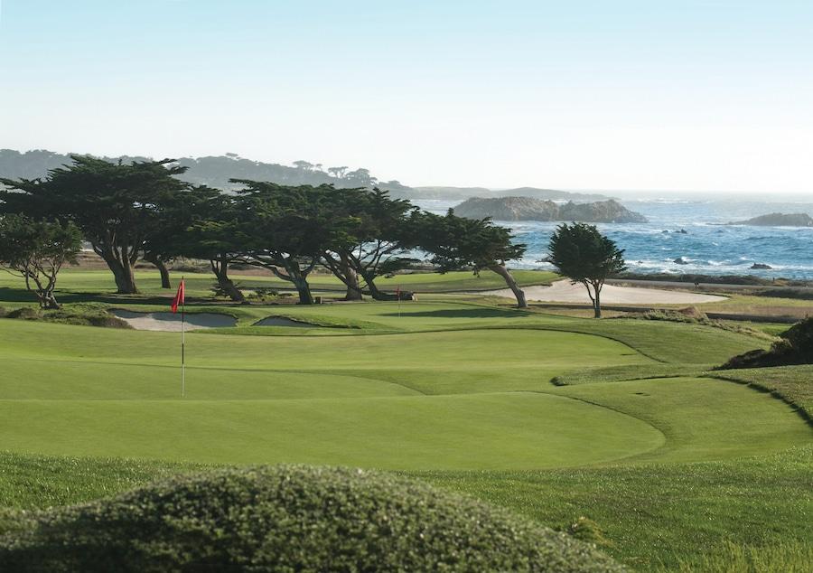 golf Pebble Beach, California