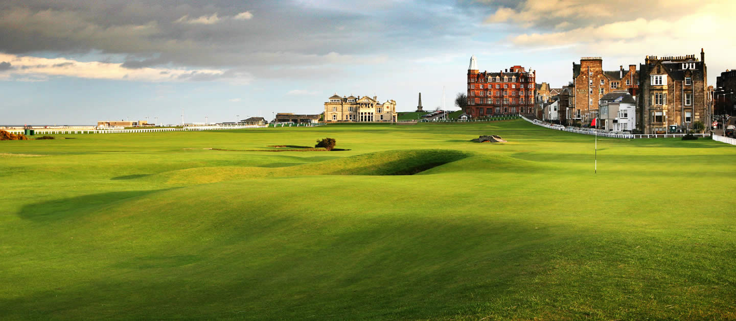 st andrews links  the legendary home of golf in scotland
