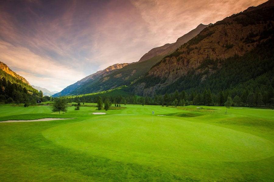 Matterhorn golf club, golf in valais