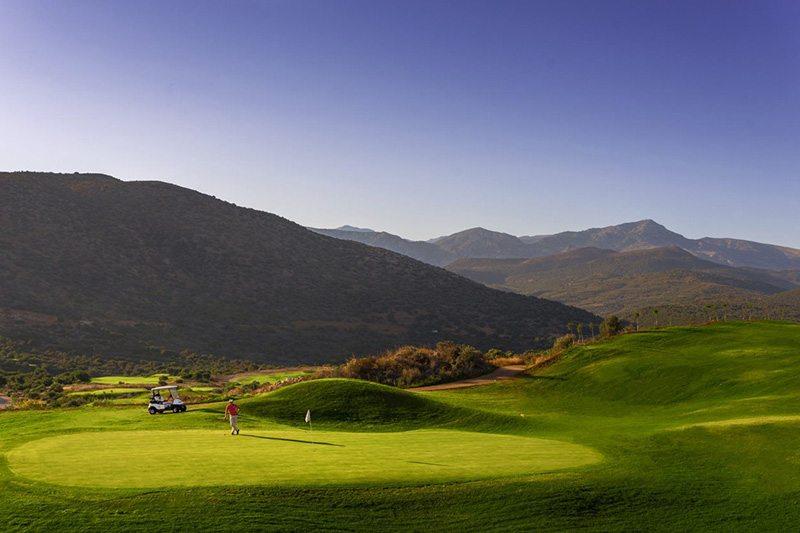 The Crete golf club, golf in greece