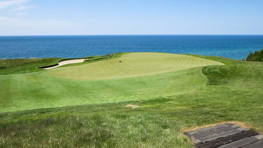 Arcadia Bluffs Golf Club, golf in michigan