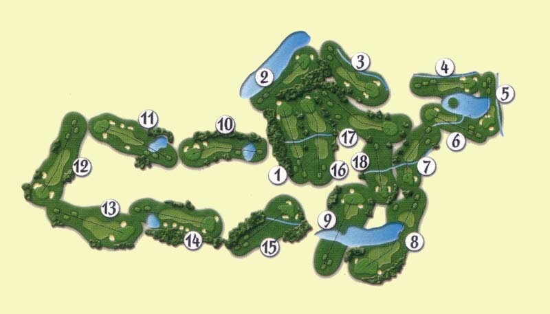 Culpeper Country Club, golf in Virginia