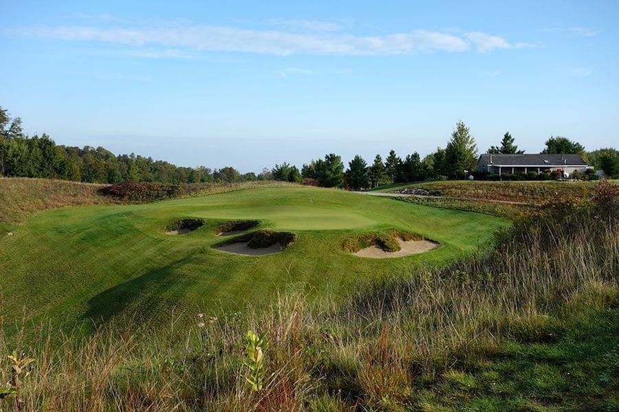 Kingsley Club, golf in Michigan