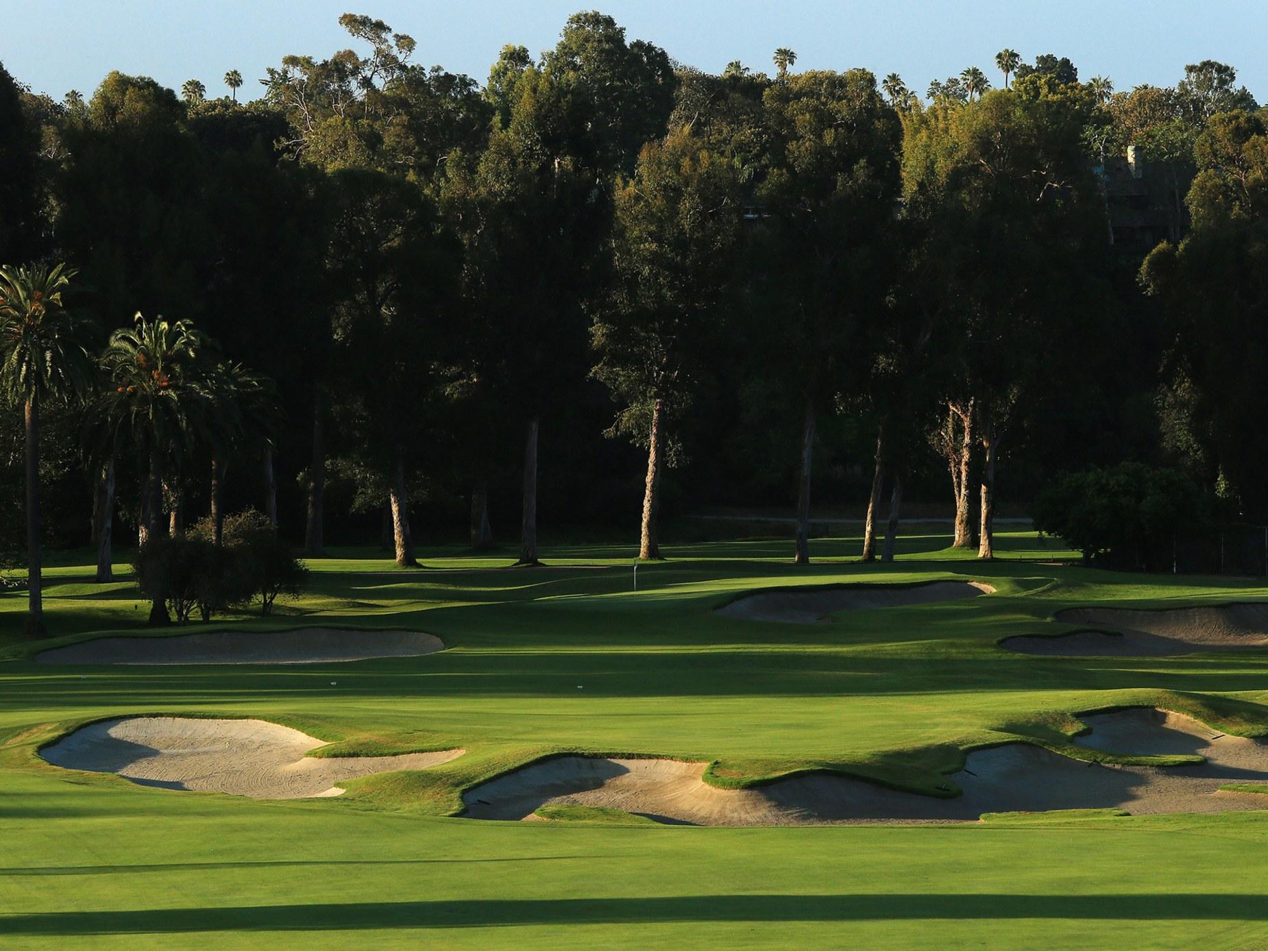Riviera Country Club , golf in california