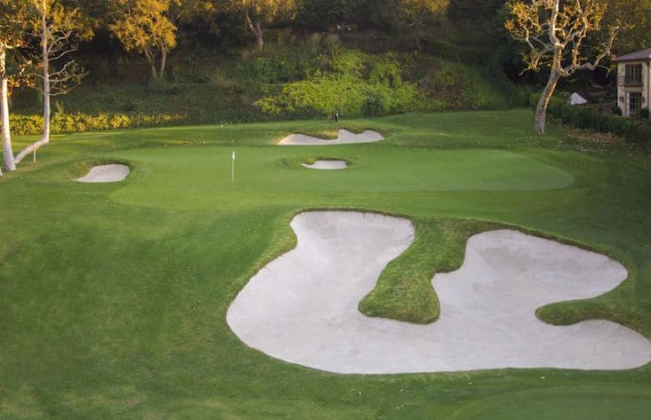 Riviera country club, golf in california