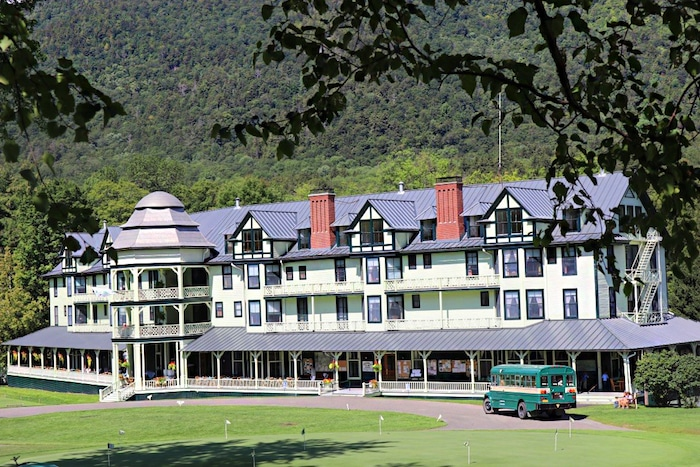 Ausable Club, golf in new york