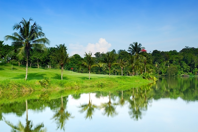 Ayer Keroh Country Club, golf in malaysia