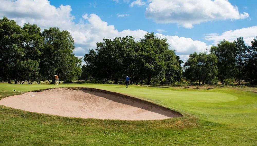 Beau Desert Golf Club, golf in England