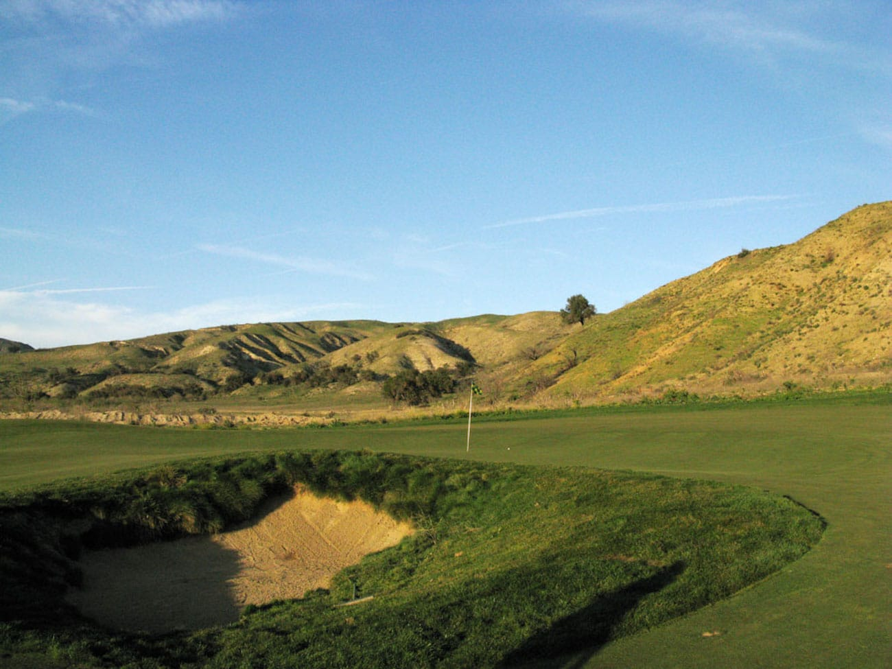 Rustic Canyon Golf Course In California