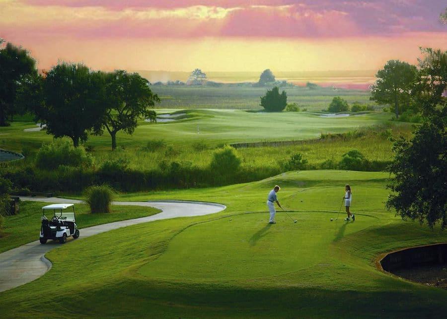 Hollywood casino bridges golf course