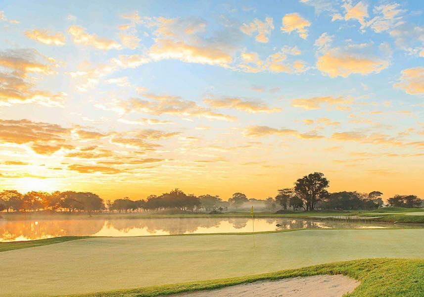 Bonanza golf course , golf in zambia