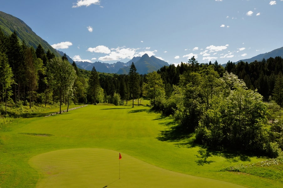 Golf Bovec, golf in slovenia