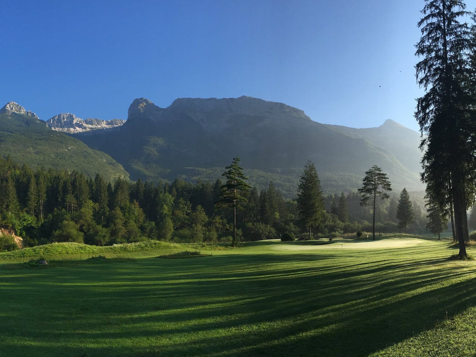 Golf Bovec , golf in Slovenia