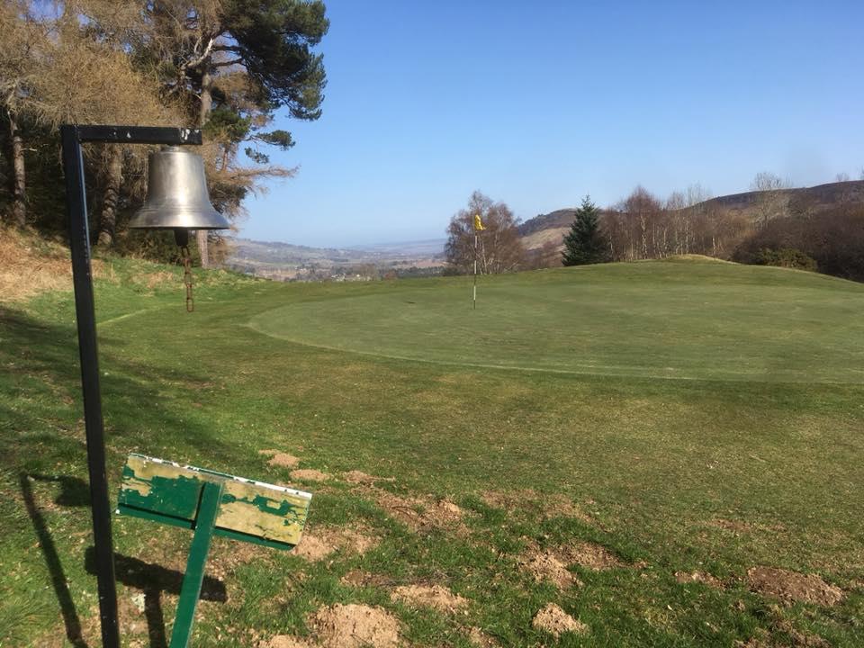 Strathpeffer Spa Golf Club, golf in scotland