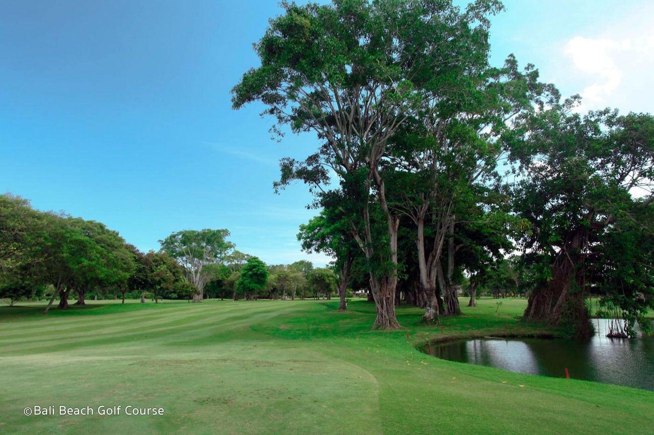 Bali Beach Golf Course, golf in indonesia