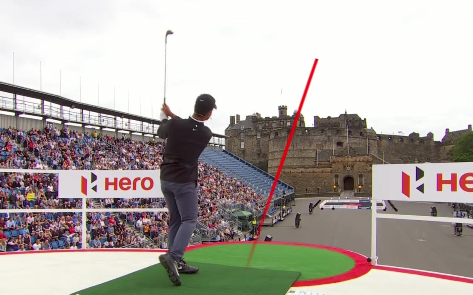 The Hero Challenge at Edinburgh Castle