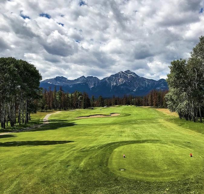 Fairmont Jasper Park golf
