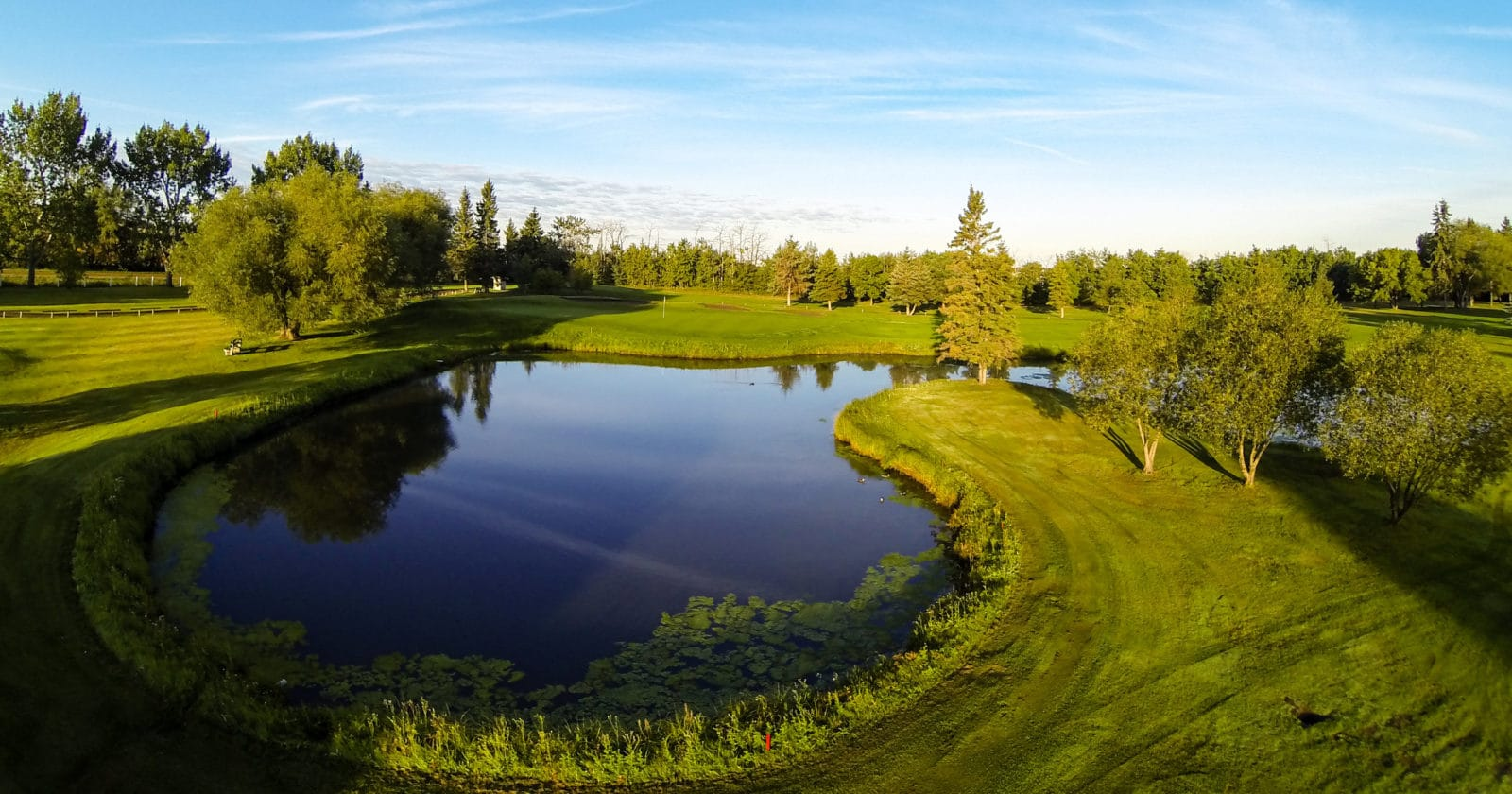 Leduc Golf and Country Club hole 6th