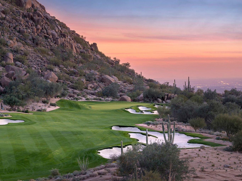 Hole 5th Estancia Club -  Arizona