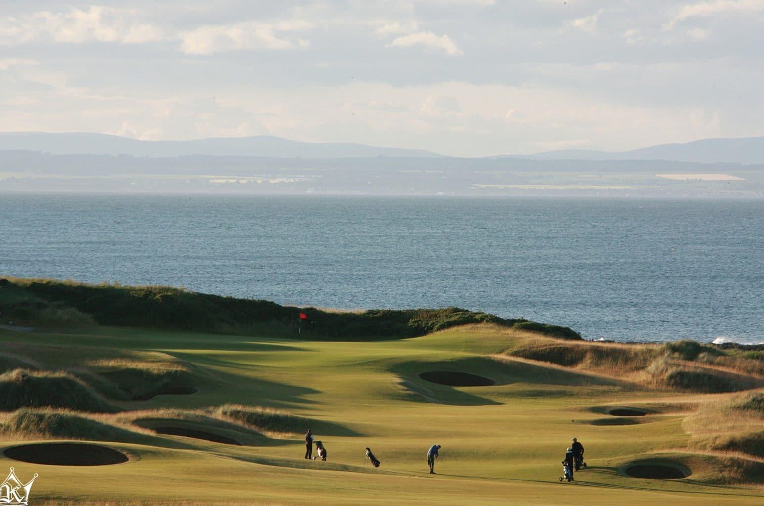Kingsbarns Golf Links hole 17th