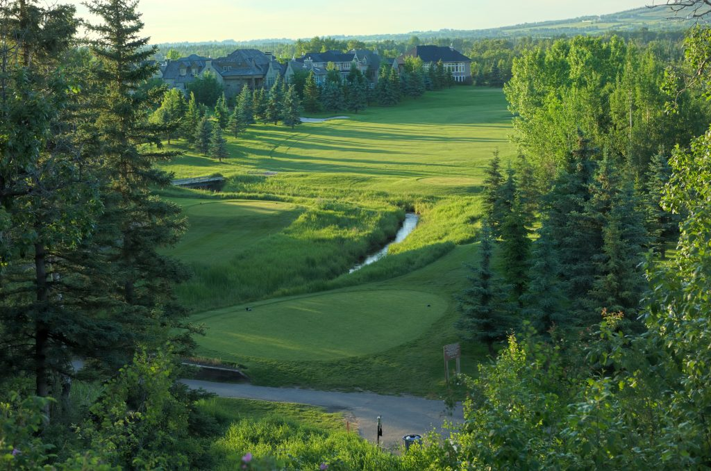 Elbow Springs Golf Club, Elbow course Hole 8th