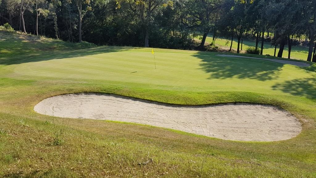 Golf Club Punta Ala hole 8
