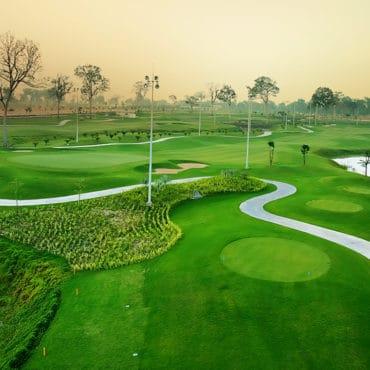 golf in laos