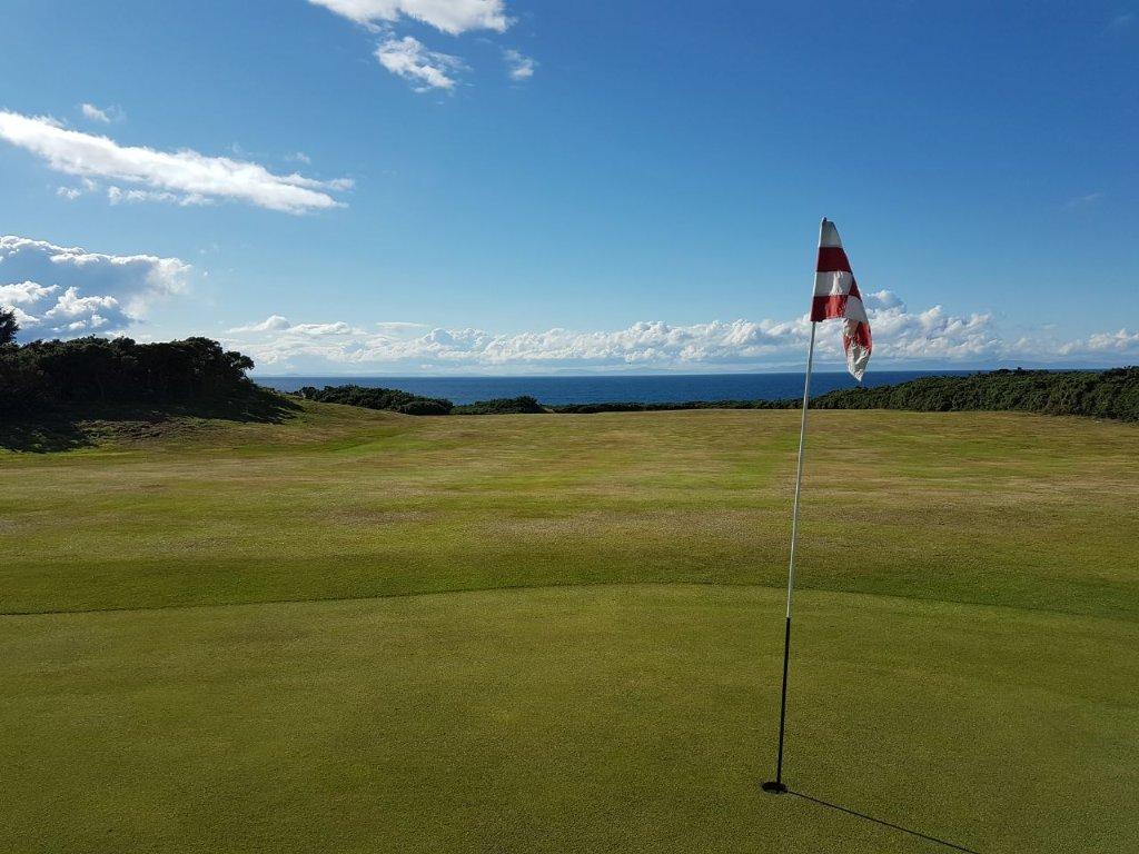 Hopeman Golf Club hole 17th