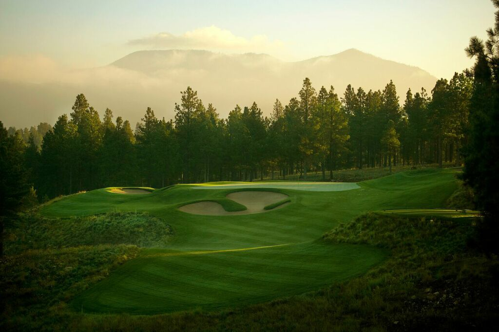 Pine Canyon Club hole 17th